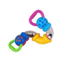 Gyermek csörgő Baby Mix sárga zsiráf