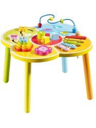 Fa oktató asztal Baby Mix