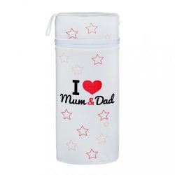 Hőtároló doboz Jumbo New Baby I love Mum and Dad fehér
