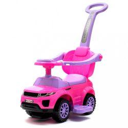 Gyerek jármű Baby Mix 3 az 1-ben rózsaszín