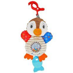 Vibrálós gyerek plüss játék Baby Mix pingvin