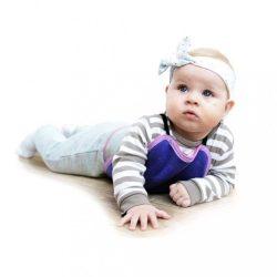 Gyermek mászó alátét VG rózsaszín-antracit