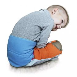 Gyermek derékszíj 0-5 éves VG antracit-rózsaszín