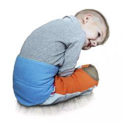 Gyermek derékszíj 0-5 éves VG kék-lime