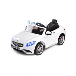Elektromos autó Toyz Mercedes S63 AMG-Benz-2 motorral white
