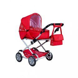 Gyermek babakocsi babáknak 2az1-ben New Baby Mónika piros