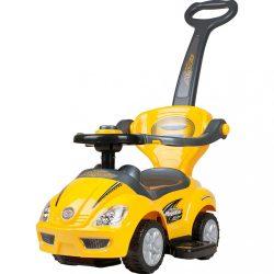 Gyermek jármű 3az1-ben Bayo Mega Car yellow