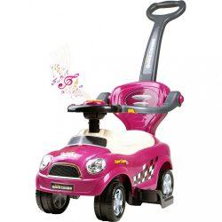 Gyermek zenélő jármű 3az1-ben Bayo Super Coupe purple