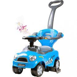 Gyermek zenélő jármű 3az1-ben Bayo Super Coupe blue
