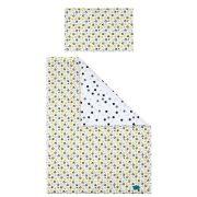 6-részes ágyneműhuzat Belisima Cica  90/120 sárga