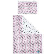 5-részes ágyneműhuzat Belisima Cica 100/135 rózsaszín