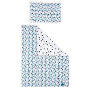 5-részes ágyneműhuzat Belisima Cica 100/135 kék