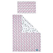 6-részes ágyneműhuzat Belisima Cica  100/135 rózsaszín