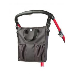Pelenkázó táska CARETERO 2v1 graphite