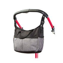 Pelenkázó táska CARETERO Deluxe black-grey