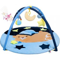 Játszószőnyeg melódiával PlayTo alvó maci kék