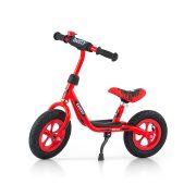 "Gyermek lábbal hajtós bicikli Milly Mally Dusty red 10"""