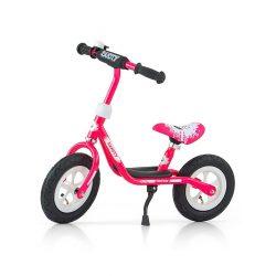 """Gyermek lábbal hajtós bicikli Milly Mally Dusty pink 12"""""""