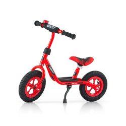 "Gyermek lábbal hajtós bicikli Milly Mally Dusty red 12"""