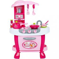 Nagy gyermek konyha érzékelővel Bayo + tartalék