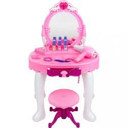 Gyerek fésülködő asztal Bayo +  tartozék