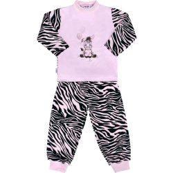 Gyerek pamut pizsama New Baby Zebra léggömbbel rózsaszín