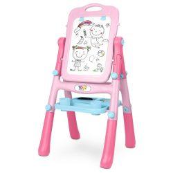 Kétoldalas oktató tábla Toyz pink