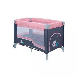 Gyermek utazóágy Baby Mix dark pink