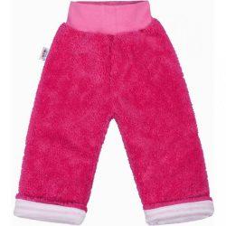 Téli baba melegítőnadrág New Baby Fülecske sötét rózsaszín