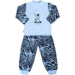 Gyerek pamut pizsama New Baby Zebra léggömbbel kék