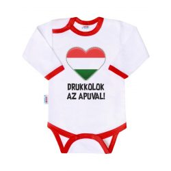 Body nyomtatott mintával New Baby Drukkolok az apuval