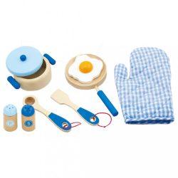 Gyermek faedények Viga-reggeli kék