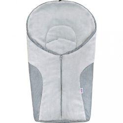 Luxus téli lábzsák New Baby Car light grey