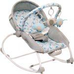 Pihenőszék babák számára 2in1 Baby Mix grey
