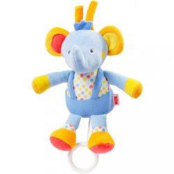 Gyermek plüss játék melódiával Nuk elefánt