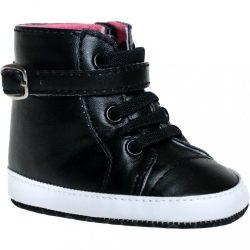 Gyermek cipő Bobo Baby 6-12h fekete