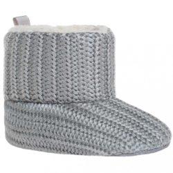 Gyermek téli cipő Bobo Baby 6-12h szürke kötött