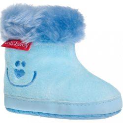 Gyermek téli cipő Bobo Baby 3-6h kék smile