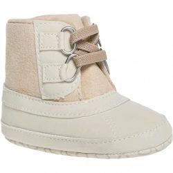Gyermek téli cipő Bobo Baby 3-6h krémszínű