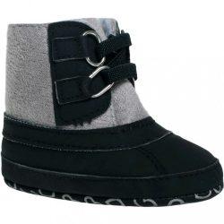 Gyermek téli cipő Bobo Baby 3-6h fekete-szürke