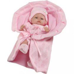 Luxus spanyol baba-kisbaba Berbesa Valentina 28cm