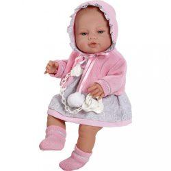 Luxus spanyol baba-kisbaba Berbesa Amanda 43cm