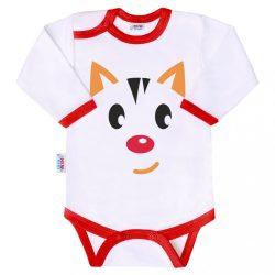 Body nyomtatott mintával New Baby Animals cica