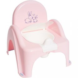Gyerek bili becsukható deszkával Bunny rózsaszin