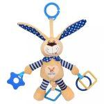 Baby Mix gyerek vibrálós játék nyuszi kék