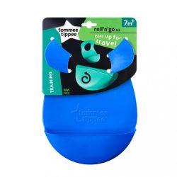 Műanyag előke Tommee Tippee Explora kék