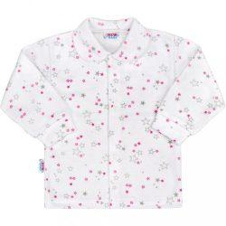 Baba kabátka New Baby Magic Star rózsaszín