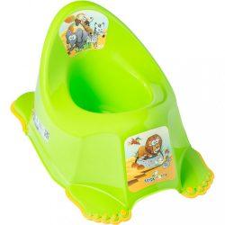 Gyerek csúszásmentes bili Safari zöld