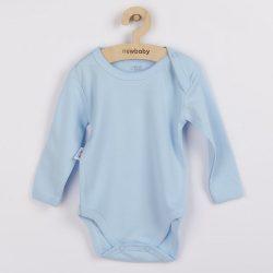 Baba hosszú ujjú body New Baby Pastel kék
