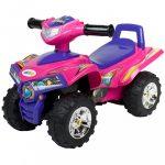 Gyerek négykerekű jármű Bayo pink